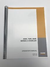 Case 650K 750K 850K 2 Crawler Dozer PLAIN Operation Maintenance Manual 6-32870NA