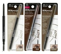 (1)Maybelline Brow Precise Micro Eyebrow Pencil + Gromming Brush ~ Choose Shade