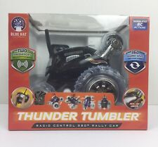 Blue Hat Thunder Tumbler Radio Control 360° Rally Car ~Wireless RC Action ~Black