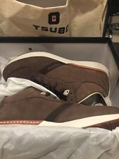 TSUBO MEN's Shindobu Mid IRON GATE(Brown) Size 10.5M NIB Athletic Shoes