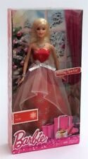 Barbies Mattel Holiday Barbie