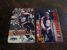 1995 Score Board Hockey---Phone Cards---Lot Of 2---Ed Jovanovski---NrMt