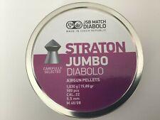 JSB Straton Jumbo Diabolo Air Gun Pellets 0.22/5.50mm Qty 500 Free P & P