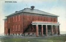 Postcard School Building? Stafford, Kansas - used in 1912