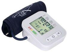 EHM Voice LCD Digital Blood Pressure Pulse Monitor Heart Beat Arm Cuff USA