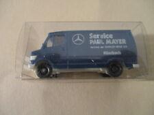 """Wiking H0 Mercedes 207 D """"Service Paul Mayer"""", unbespielt im OK !!!"""