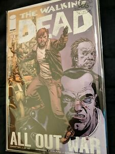 The Walking Dead 115-126, All Out War series comics.