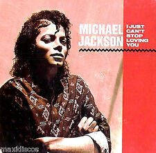 "12"" - Michael Jackson - I Just Can't Stop Loving You (SPANISH PRES. 1987) LISTEN"