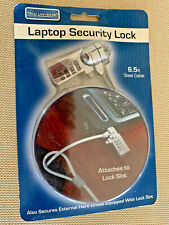 Tech Universe Laptop Security Lock, 6.5 Ft. Steel Cable Combination Lock, New