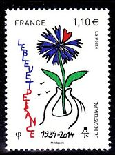 FRANCE 2014 -  YT 4907 LE BLEU DE FRANCE neuf**