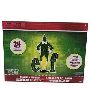 Elf Movie Buddy Advent Calendar 24 Days Collectible Surprise Set Jakks Pacific