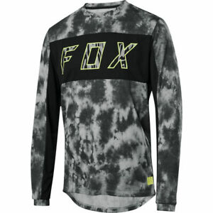 Fox Racing Elevated Dri-Release Long Sleeve L/S Fox Jersey Black