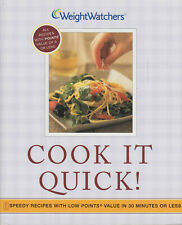 Weight Watchers - Cook It Quick - Speedy Recipes with Low POINTS Value