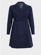 Outlander (Torrid) beautiful Navy Blue Claire swing coat size 1