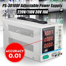 USB Labornetzgerät Labornetzteil DC Trafo Regelbar Netzgerät 0-30V 0-10A