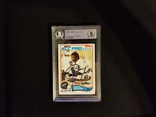 New York Giants Lawrence Taylor Signed Rookie Card COA