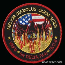 USAF BLACK OPS PHOENIX MISSION AREA 51 NRO L-49 DELTA IV-H SATELLITE SPACE PATCH