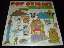 CHUCK BERRY BO DIDDLEY HOWLIN' WOLF MUDDY WATERS 33RPM LP POP ORIGINS + BONUS
