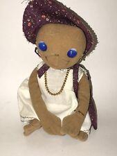 "Vtg E.T. Extra Terrestrial Showtime 1982 KAMAR Stuffed Plush Custom Dress Up 8"""