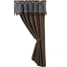 Western Blue Jean Curtain and Valance With FREE Shipping!