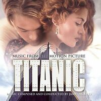 James Horner Titanic (soundtrack, 1997, feat. Céline Dion..) [CD]