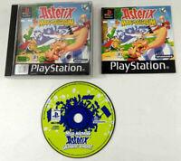 Jeu Playstation 1 PS1 VF  Asterix Maxi Delirium avec notice  Envoi rapide suivi