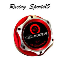 JDM MUGEN HONDA /ACURA RED BILLET ENGINE OIL CAP CIVIC ACCORD S2000 FIT INTEGRA