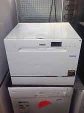 *ZANUSSI ZDM17301WA Compact Dishwasher - White #140532