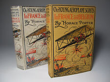 1915 'YOUNG AEROPLANE SCOUT FRANCE BELGIUM' FINE 1ST DJ BI-PLANE FLIGHT WAR