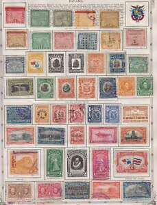 D1261: Early Panama Stamp Collection; Better
