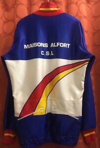 XL 5 Vintage FRENCH Randonneur Winter Cycling Jacket MAISONS ALFORT Gendarmerie