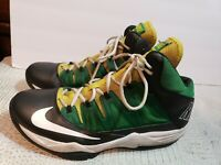 Nike Air Max Stutter Step Men Shoes Size 11.5 yellow green Basketball 599565-013
