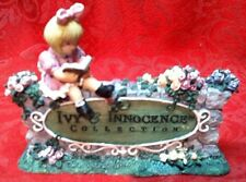Ivy & Innocence Emily's Welcome Sign Cast Art Figurine 05182 1997 MINT No Box