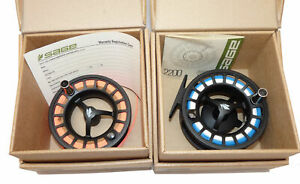 Sage 2280 large Arbor performance fly reel, spare spool leaflet & makers boxes