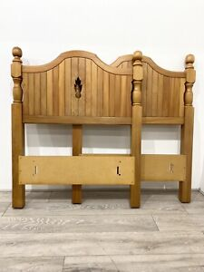 Superb * Pair ROXTON Maple Single Bed HEAD BOARDS * Canadian Bedroom Furniture