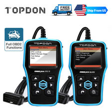 Automotive Diagnostic Tool OBD2 OBDII Scanner Code Reader Check Engine Light MIL