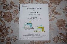 Professional Full Edition Service Manual: Singer 640 645 646 648 Sewing Machines