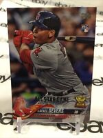 Rafael Devers RC 2018 Topps Series 1 All-Star Rookie Card # 18 Boston Red Sox