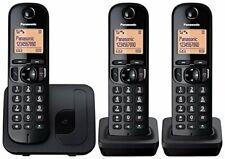 Panasonic KX-TGC210/212/213 Cordless Dect Phone with Call Blocking - Black