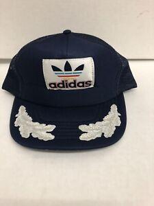 Vintage Adidas Snapback Trucker Hat Sz M/L