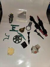 Vintage Gi Joe Cobra Rattler Canopy and other vehicle parts