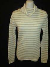 Old Navy 100% Cashmere Cream Beige Turtleneck Sweater XS