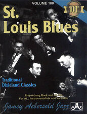 Jamey Aebersold Jazz Play-Along 100 St. Louis Blues Dixieland Jazz Noten mit CD