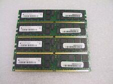 8GB 4x2GB Qimonda PC2-5300P DDR2-667 ECC Reg 240-Pin HYS72T256920HP-3S-B Server