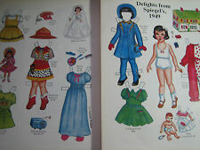 1987 Lauren Welker Spiegel's Delights from 1949 Paper Doll / UNCUT