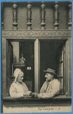 CPA: BEAUVAIS - Scènes et Costumes - Une bonne prise / 1933