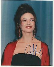 Catherine Zeta Jones signed 10x8 Image A photo UACC Registered dealer COA