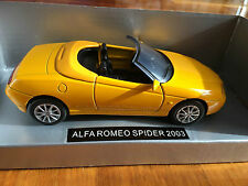 NewRay 1:32 Scale Die-Cast ALFA ROMEO SPIDER 2003 Classic Collection Car Model