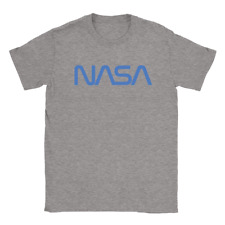 NASA Mens T-Shirt Cool Space Planets Science Logo Top Gift