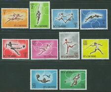 SAN MARINO 1963 MNH SC.572/581 Olympic Games Tokyo